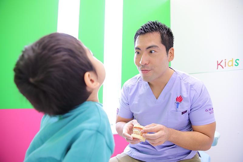 お子様の歯並びの改善